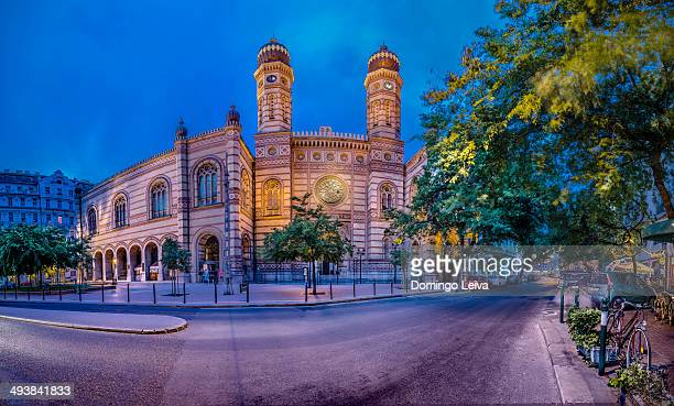 The Great Synagogue of Budapest.