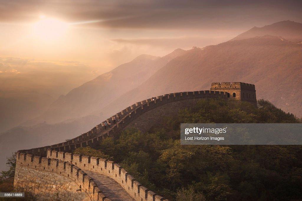 The Great Wall at Mutianyu, Beijing, China