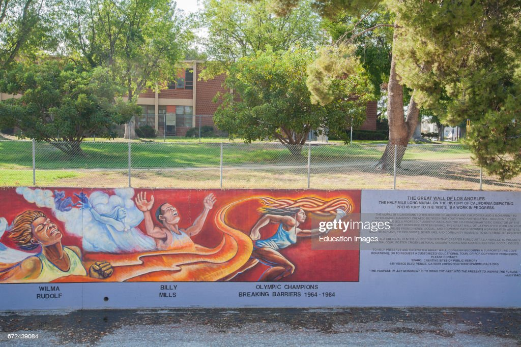 The Great Wall Of Los Angeles Is A Mural Designed By Judith Baca And  Executed With Part 94