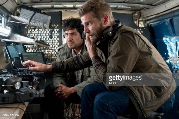 THE BRAVE 'The Greater Good' Episode 105 Pictured Lakin Valdez as Hugo Vargez Mike Vogel as Captian Adam Dalton