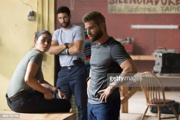 THE BRAVE 'The Greater Good' Episode 105 Pictured Natacha Karam as Sergeant Jasmine 'Jaz' Khan Noah Mills as Sergeant Joseph 'McG' McGuire Mike Vogel...