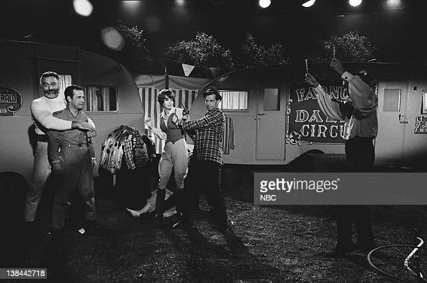 GET SMART 'The Greatest Spy on Earth' Episode 10 Aired 11/19/66 Pictured Harry Varteresian as Hondo the strongman Don Adams as Maxwell Smart Agent 86...