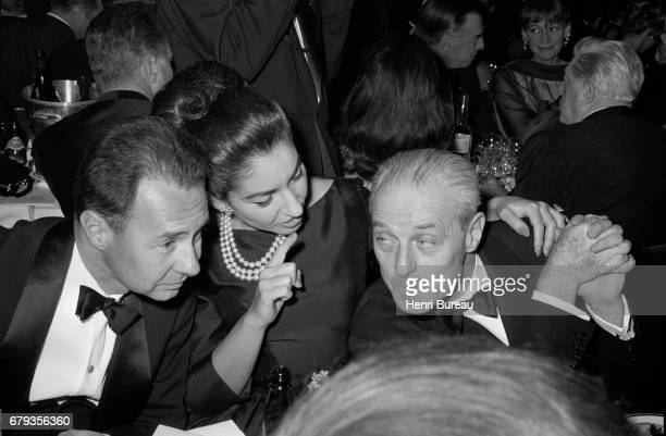 The Greek Opera singer Maria Callas at the Lido's Gala Evening in Paris 2nd December 1964