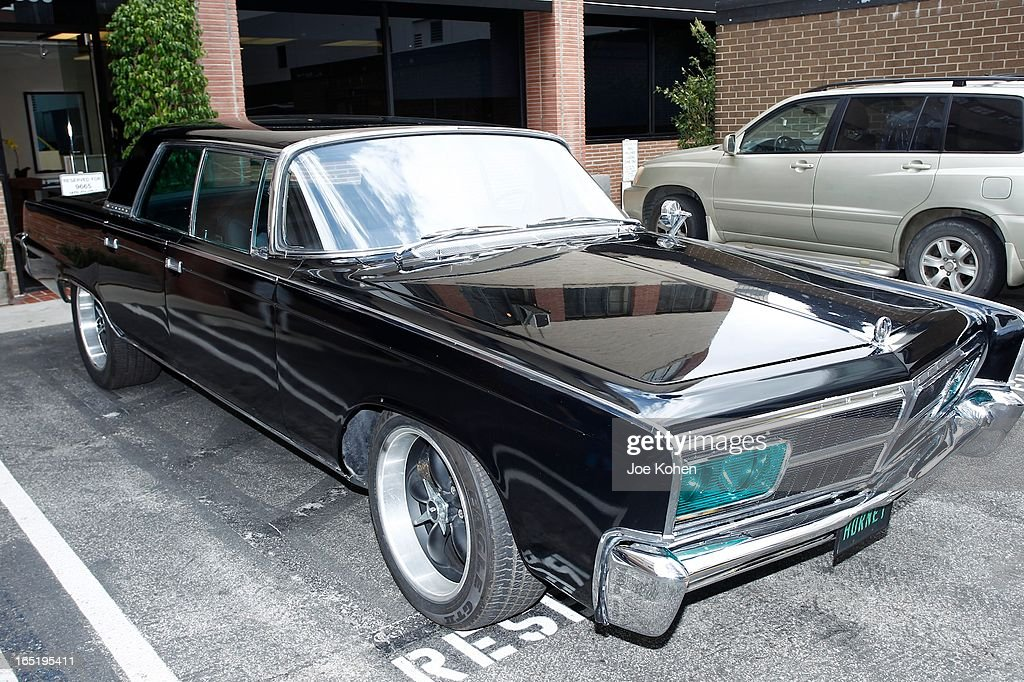 The Green Hornet car seen on display at Julien's Auctions Gallery on April 1, 2013 in Beverly Hills, California.