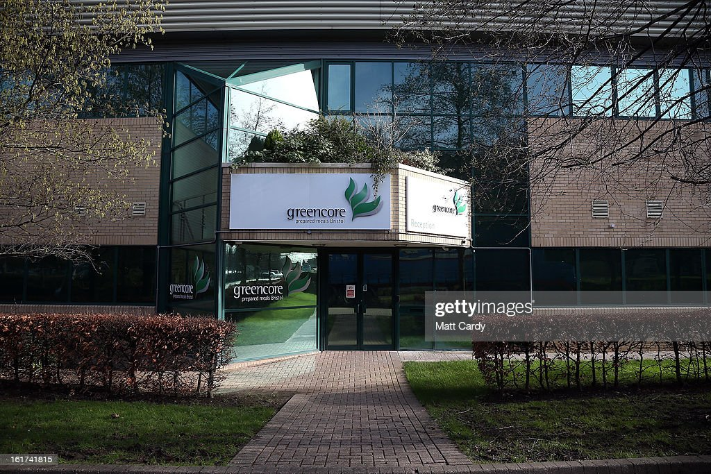 The Greencore factory building is seen on February 15, 2013 in Bristol, England. The convenience food manufacturer Greencore has been named in the ongoing horse meat scandal after traces of equine DNA were found in beef bolognese sauce that it sold to Asda.