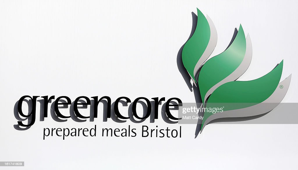 The Greencore logo is seen on the outside of its factory building on February 15, 2013 in Bristol, England. The convenience food manufacturer Greencore has been named in the ongoing horse meat scandal after traces of equine DNA were found in beef bolognese sauce that it sold to Asda.