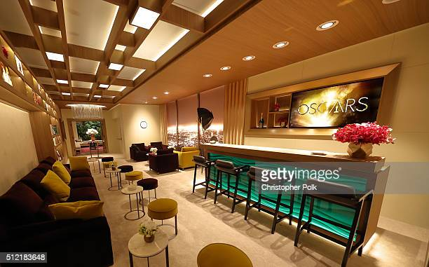 The Greenroom for the 88th Oscars Ceremony Designed by Rolex at the Dolby Theatre on February 24 2016 in Hollywood California