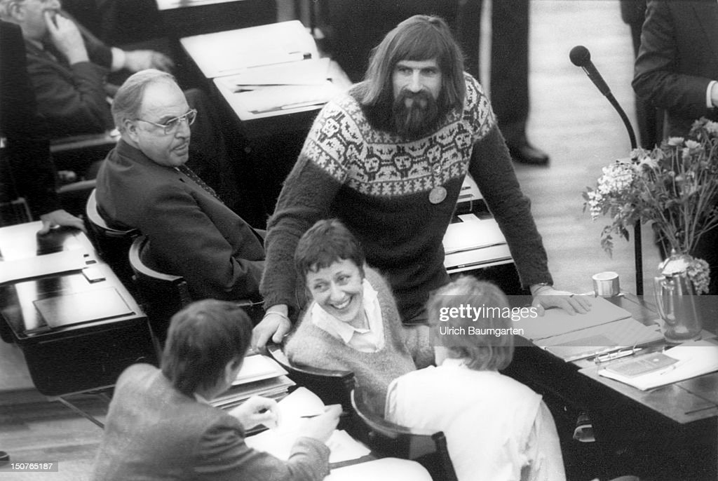 30 Years Since The Greens Elected To German Parliament