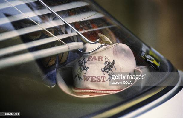 The Gregory Villemin affair In France On October 19 1986PICTURED the cowboy hat of Gregory Villemin at the back of a car