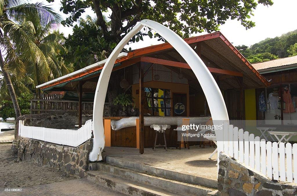 The Grenadines, Bequia Island, Port Elizabeth, Whalebone Restaurant.