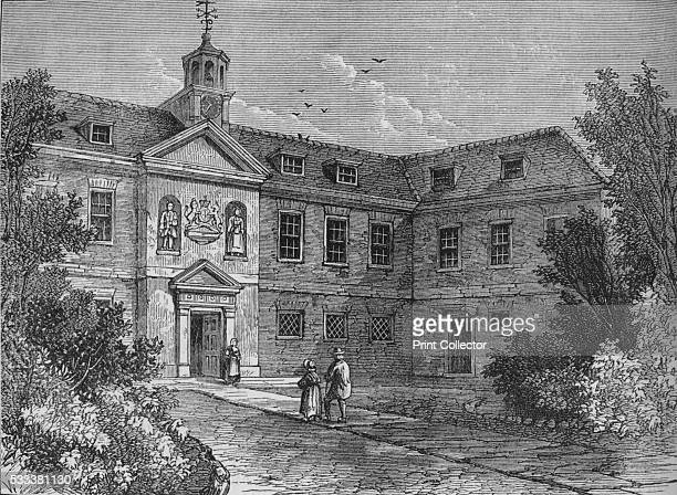 The Grey Coat School Westminster London' from 'Old and New London Illustrated Vol IV' by Edward Walford 1878 The Grey Coat Hospital was founded on St...
