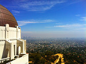The Griffith Observatory in Los Angeles