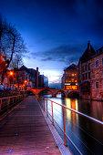 The 'Grootbrug' and Lamot brewery in Mechelen city
