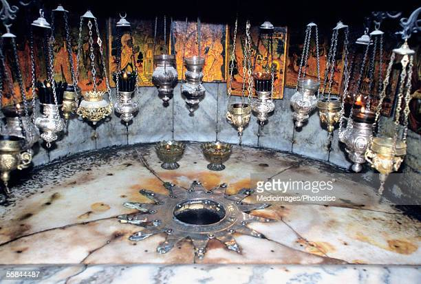 The Grotto of the Church of the Nativity, Bethlehem, Israel