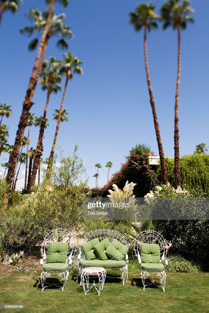 the grounds of the parker hotel in palm springs formerly gene pictures getty images. Black Bedroom Furniture Sets. Home Design Ideas
