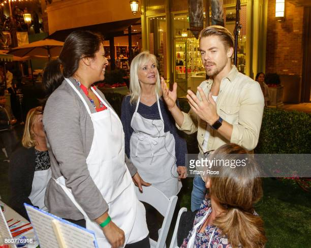 The Grove hosts Paint Sip Help event with Derek Hough Mother Marriann Nelson to Benefit Children's Hospital Los Angeles on October 12 2017 in Los...
