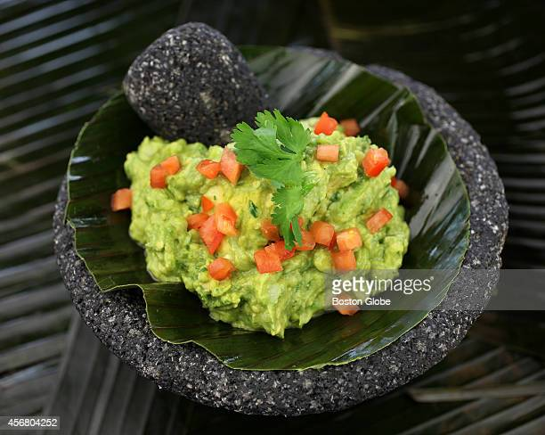 The Guacamole De La Mixteca at Chef Todd Hall's Temazcal Tequila Cantina