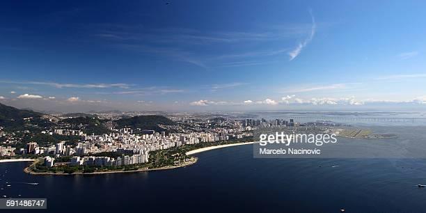 The Guanabara bay in Rio de Janeiro, Brazil