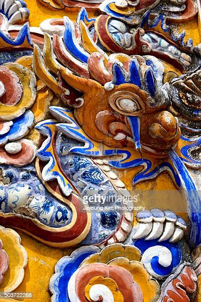 The guardian of Ngoc Son Temple