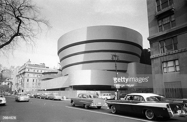 The Guggenheim Museum designed by Frank Lloyd Wright who developed the concept of 'organic architecture' that a building should develop out of its...