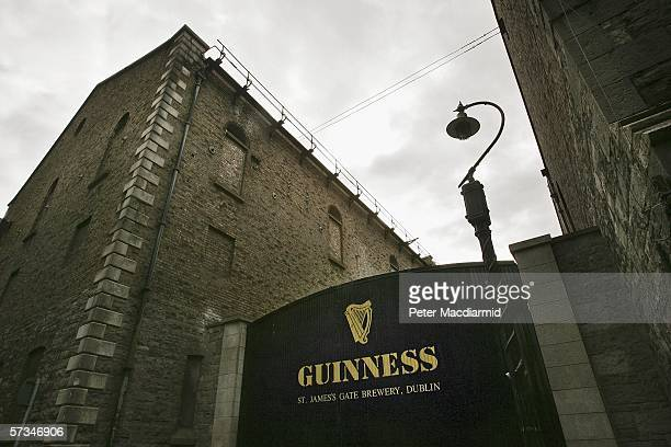 The Guinness brewery at St James's Gate on April 16 2006 in Dublin Ireland