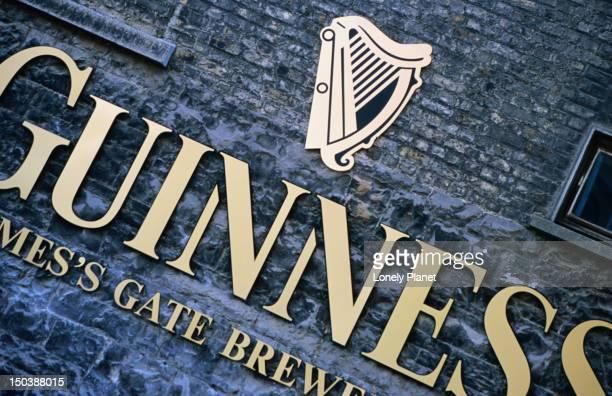 The Guinness Storehouse.