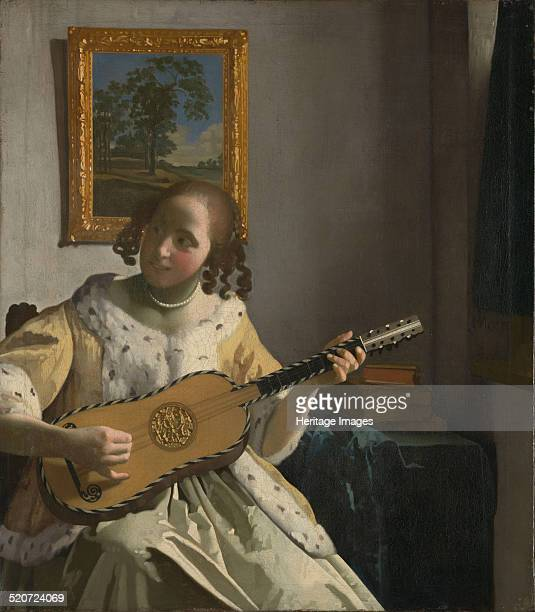 The Guitar Player Found in the collection of Kenwood House