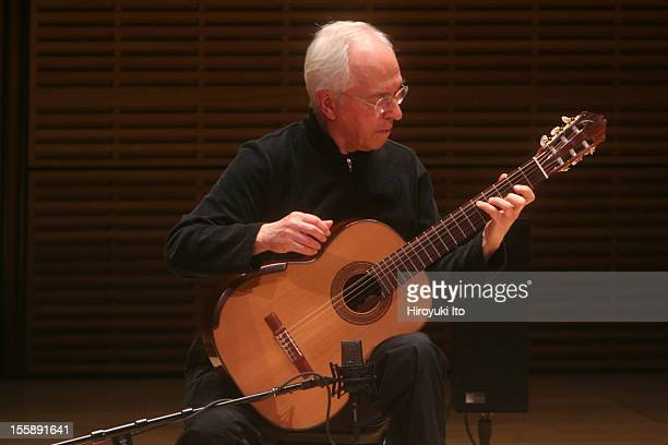 The guitarist John Williams in a solo recital at Zankel Hall on Wednesday night March 25 2009