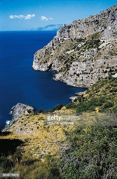 The Gulf of Policastro near Maratea Basilicata Italy