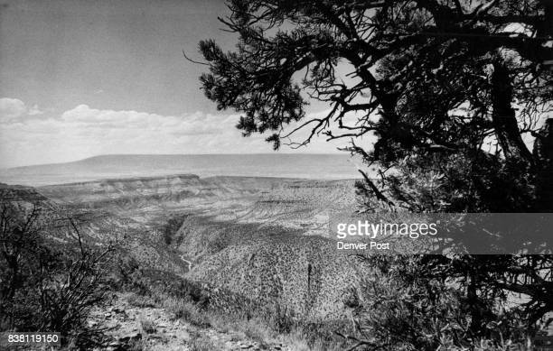 The Gunnison river Gorge virtually unchanged by man winds out of black canyon toward grand mesa Background A track of 25161 acres on both sides of...
