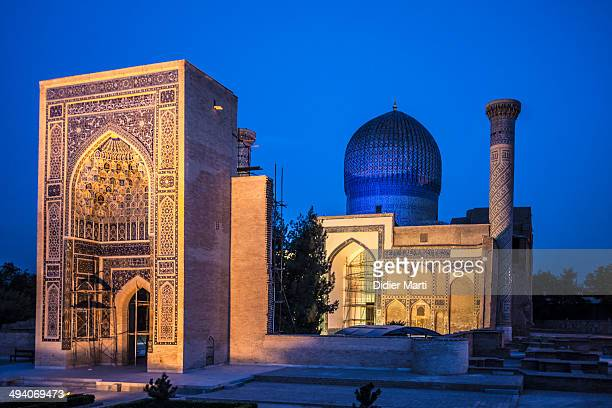 CONTENT] The Gure Amir or Guri Amir is the mausoleum of Tamerlane in Samarkand Uzbekistan Samarkand is famous for its prime Islamic architecture and...