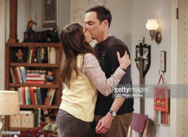 'The Gyroscopic Collapse' Pictured Amy Farrah Fowler and Sheldon Cooper After Leonard Sheldon and Wolowitz celebrate the completion of the top secret...