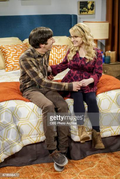 'The Gyroscopic Collapse' Pictured Howard Wolowitz and Bernadette After Leonard Sheldon and Wolowitz celebrate the completion of the top secret air...