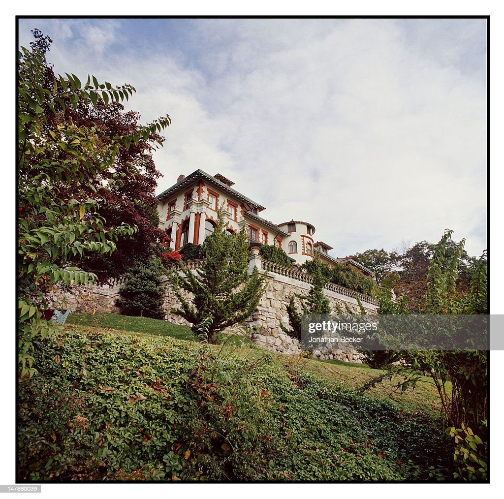 The Hacienda is photographed for Town & Country Magazine on September 8, 2011 in Tuxedo Park, New York. PUBLISHED IMAGE.