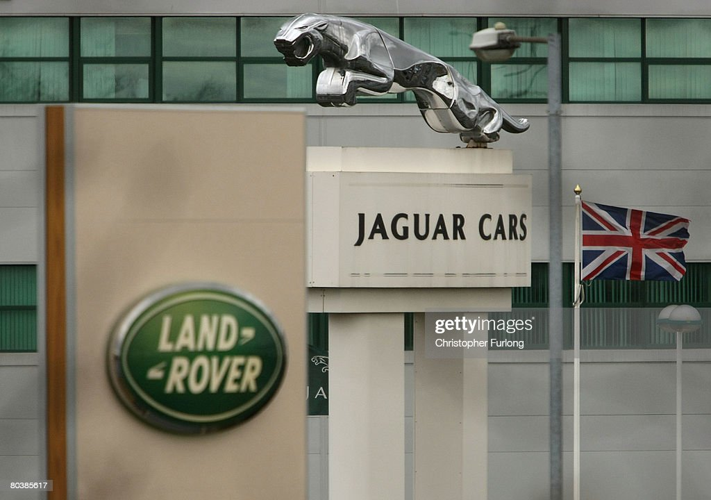 The Halewood operations site of Jaguar and Land Rover near Liverpool in Merseyside England on March 26 2008 Parent owner Ford is due to announce...