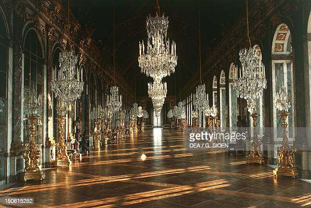 The Hall of Mirrors Palace of Versailles France 17th century