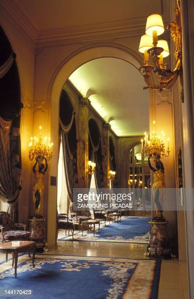 The hall of the Ritz Hotel on April 28 1994 in Paris France