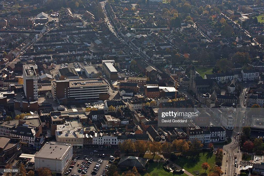 The Hampshire Military town of Aldershott on 3rd November 2006
