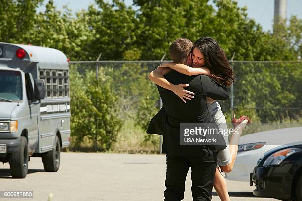 SUITS 'The Hand That Feeds You' Episode 609 Pictured Meghan Markle as Rachel Zane