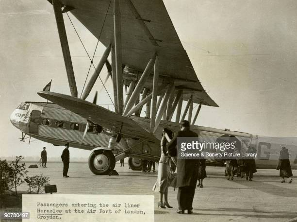 The Handley Page HP42 was the most famous Imperial Airways airliner of the period It first flew in at Radlett in 1930 and entered service in June...