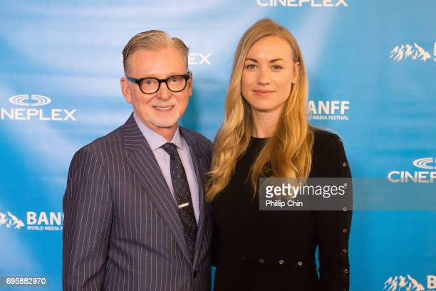 'The Handmaid's Tale ' Executive Producer Warren Littlefield and Actor Yvonne Strahovski arrive at the Red Carpet for the Rockie Awards Gala...