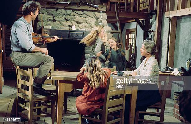 PRAIRIE 'The Handyman' Episode 4 Aired Pictured Gil Gerard as Chris Nelson Melissa Sue Anderson as Mary Ingalls Melissa Gilbert as Laura Ingalls...