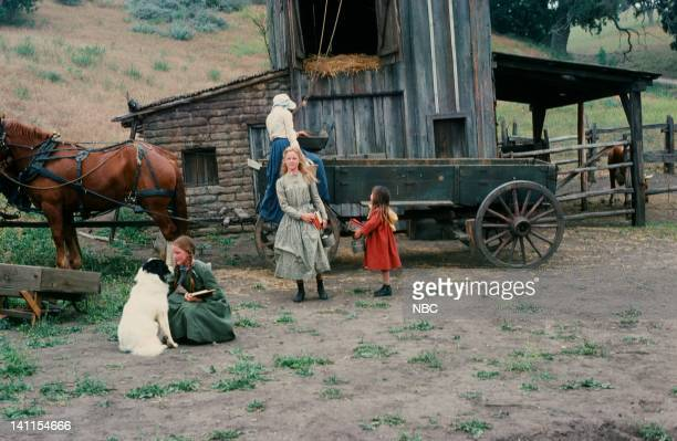 PRAIRIE 'The Handyman' Episode 4 Aired Pictured Melissa Gilbert as Laura Ingalls Wilder Melissa Sue Anderson as Mary Ingalls Lindsay or Sydney...