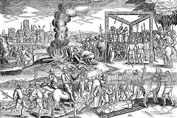 The hanging of Protestants in England during the reign of Mary Queen of Scots 8 December 1542 8 February 1587