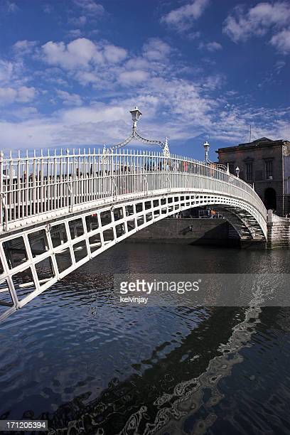 The Ha'penny Bridge Dublin