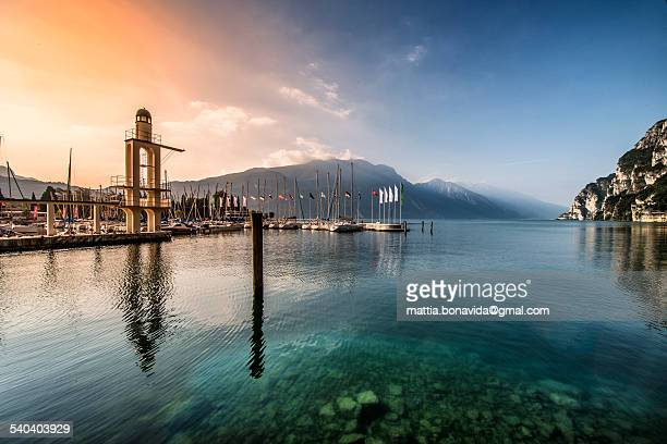 The Harbor, lake Garda.