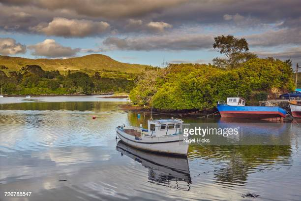 The harbour at Glengarriff, County Cork, Munster, Republic of Ireland, Europe