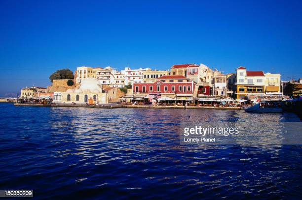 The harbour at Hania - Crete