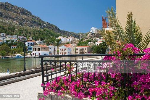 The harbour, Mandraki, Kastellorizo, Greece