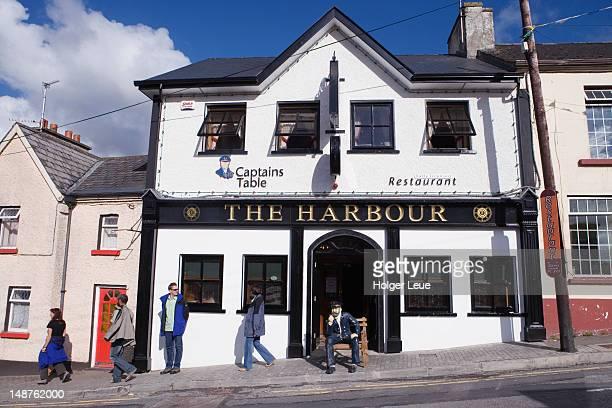 The Harbour pub and restaurant.